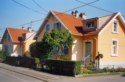 Étude urbaine et polychromie de la Cité d'Amneville